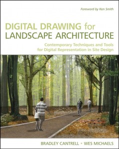 Digital Drawing for Landscape Architecture book cover