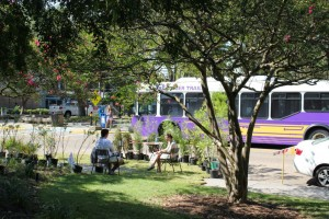 Landscape students participate in Park(ing) day