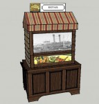 Rendering of Closed Vendor Kiosk