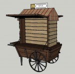 Rendering of Open Vendor Kiosk