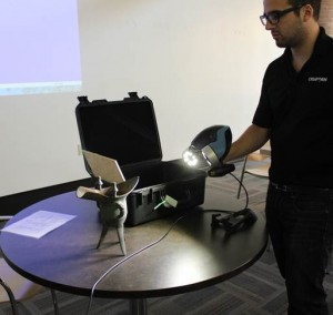 Demo of the 3D scanner
