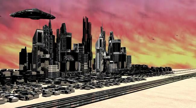 Video still of student Jody Knight's digital art project