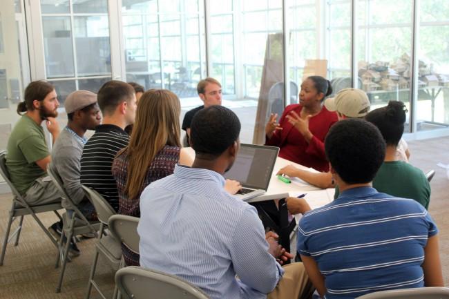Students meet with Councilwoman Tara Wicker