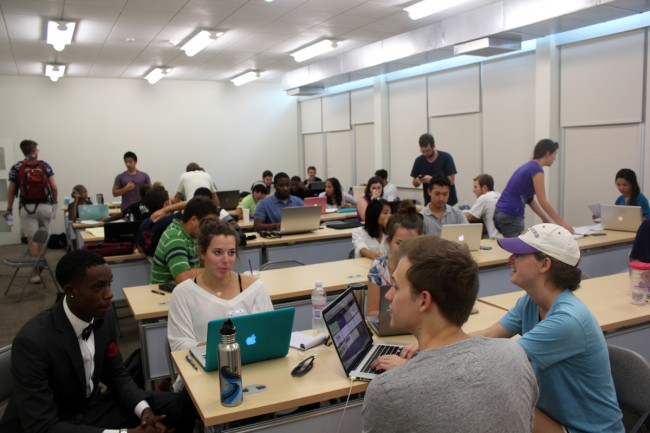 Studio meeting at Southern University