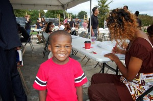Children and adults alike participated in Mid City Speaks.