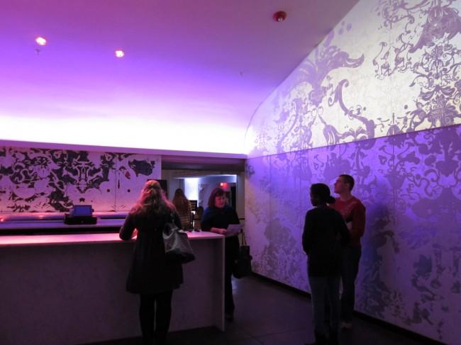 Civic Theatre renovation - lobby