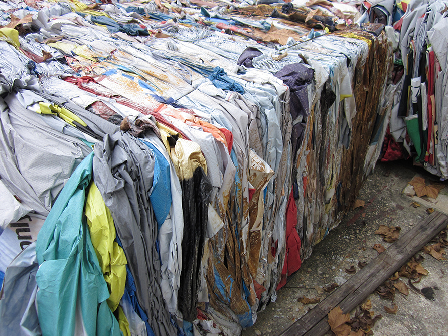 Tarp, cloth in different colors