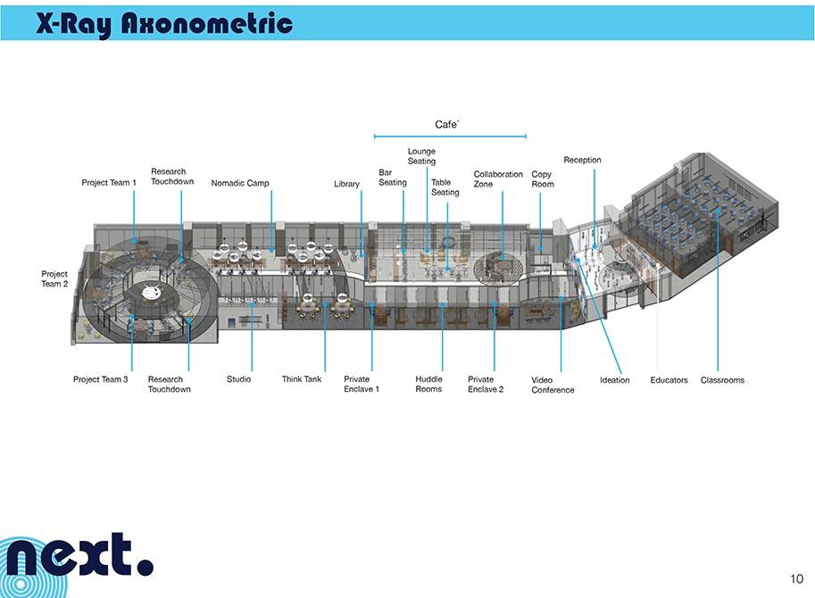 x-ray axonometric