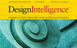 design intelligence rankings surveys magazine cover