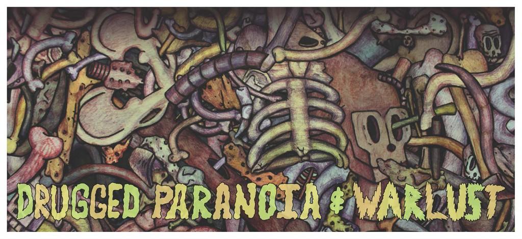 Nathan Pietrykowski Drugged Parranoia War Lust, lsu school of art 2014 spring mfa thesis show
