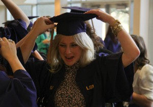 LSU Art and Design School Graduation Day