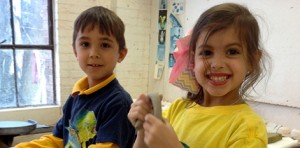 lsu lab school kindergarten visits ceramics