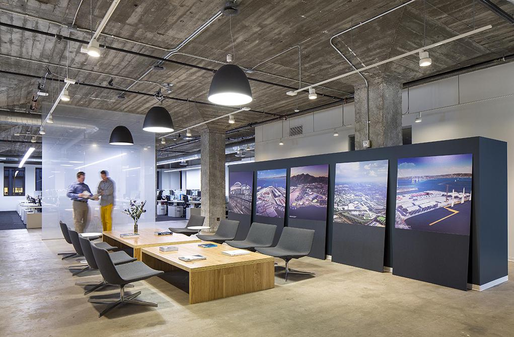 modern office, lsu landscape architecture alumni work