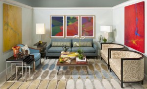 Modern room, lsu interior design alumni glen boudreaux bid 1980