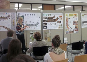 lsu interior design student presents capstone project