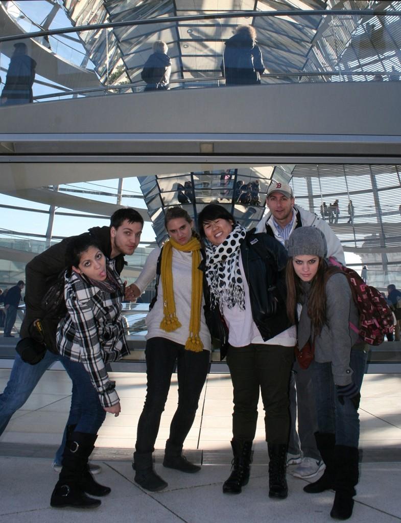 Group posing