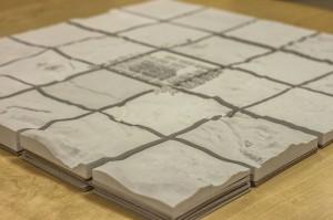 3d printed terrain models