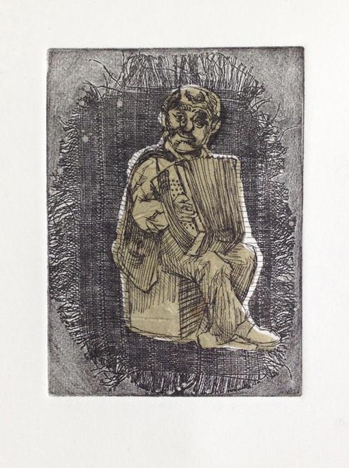 Print of human form