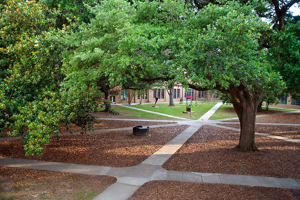 LSU Sculpture Quad
