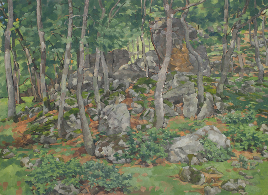 landscape, lsu art faculty work