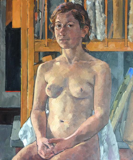 nude, lsu art faculty work