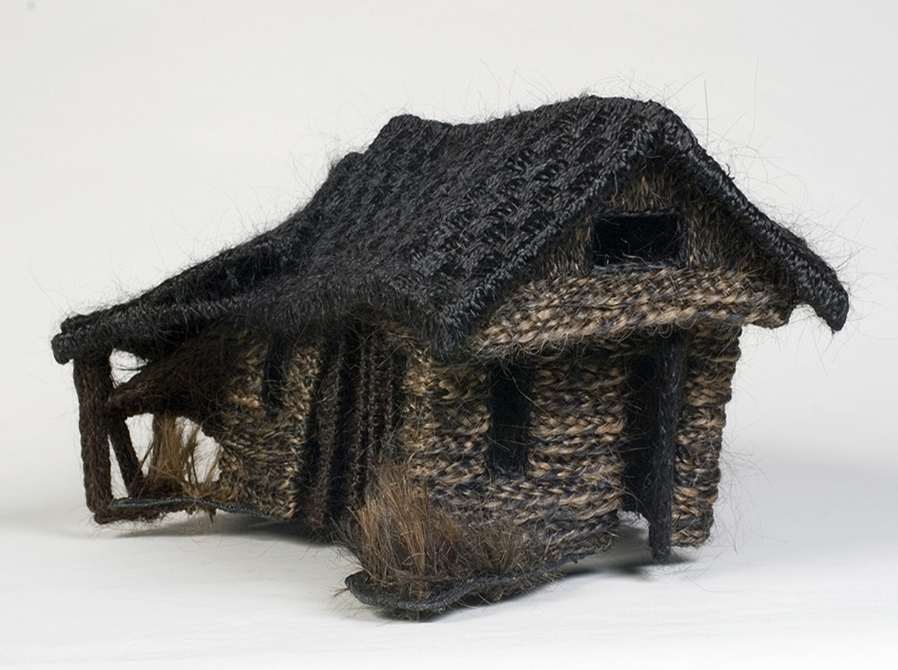 Cottage made of braids