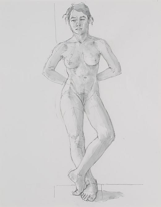 figure drawing woman