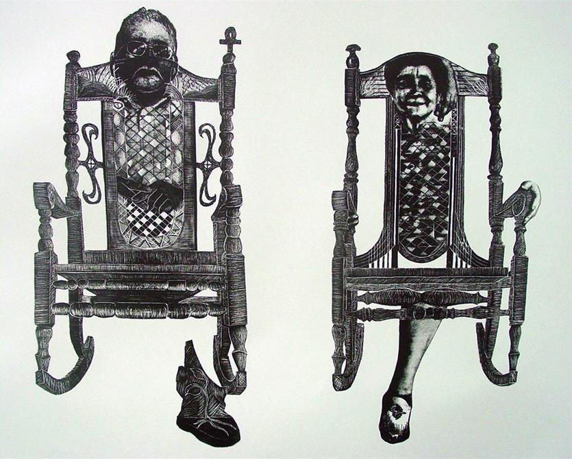 Alejandro Arauz LSU Printmaking MFA Thesis