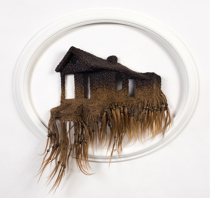 house made of human hair