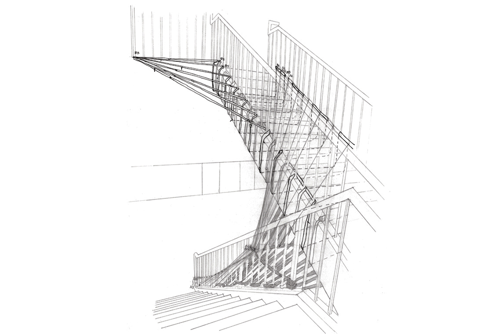 Sketch in black and white, LSU ARCH 4041 Issues in Sustainability