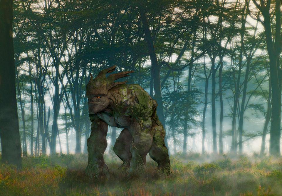 digital model of creature