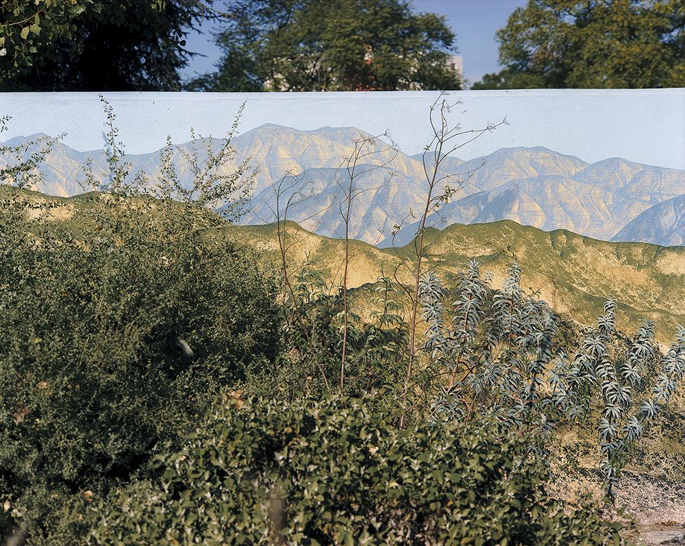 mountain scene, Jeremiah Ariaz