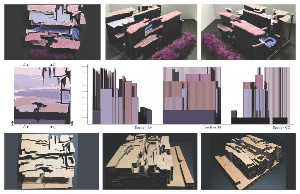 Renderings of building angles