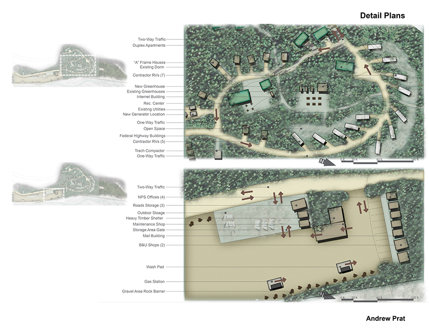Details plans by LA 4008 Advanced Topics Studio student Andrew Prat