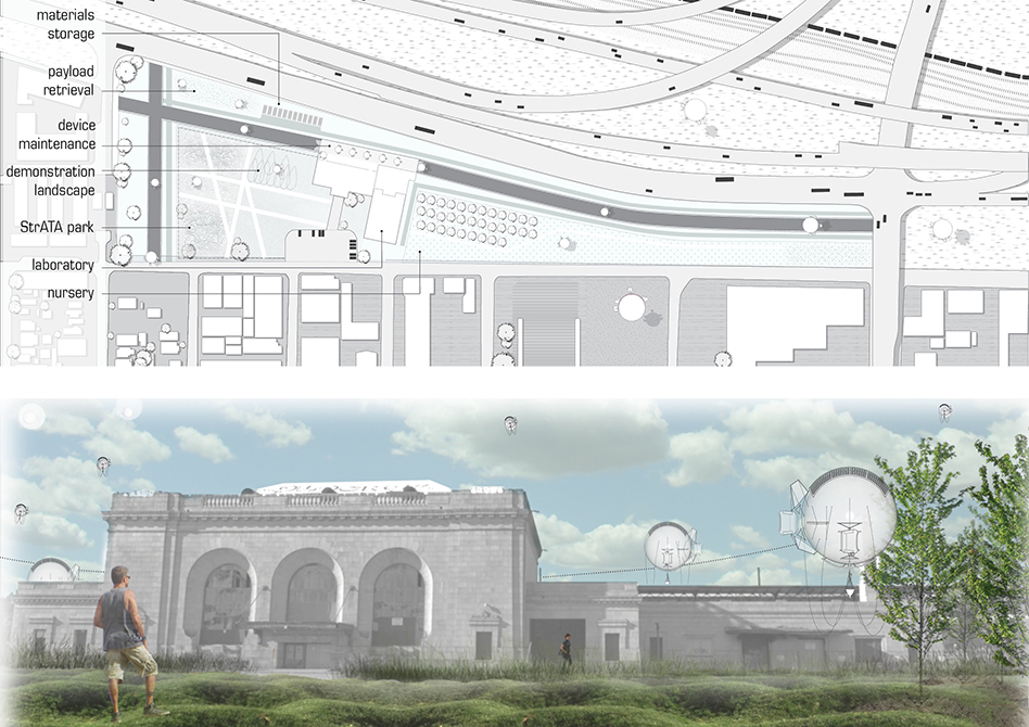 Concept image of a building