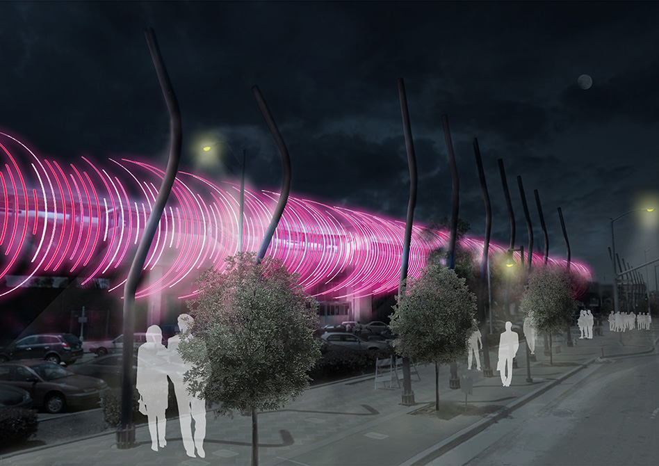 Concept image of future lighting system