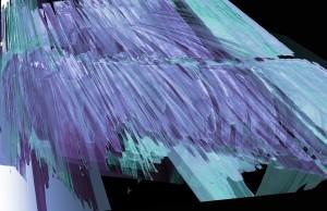 Abstract colors turquoise, indigo, black. LA 7002 Graduate Landscape Design II: Site Design
