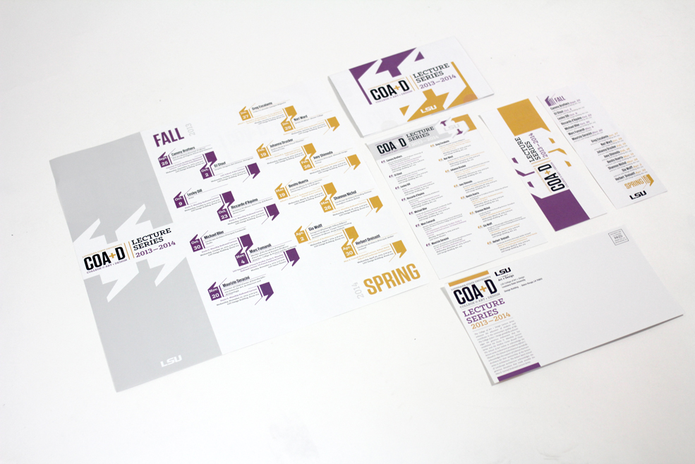 Brochure of graphic design work