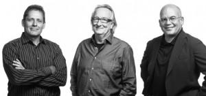Mark Ripple, Allen Eskew, and Steve Dumez