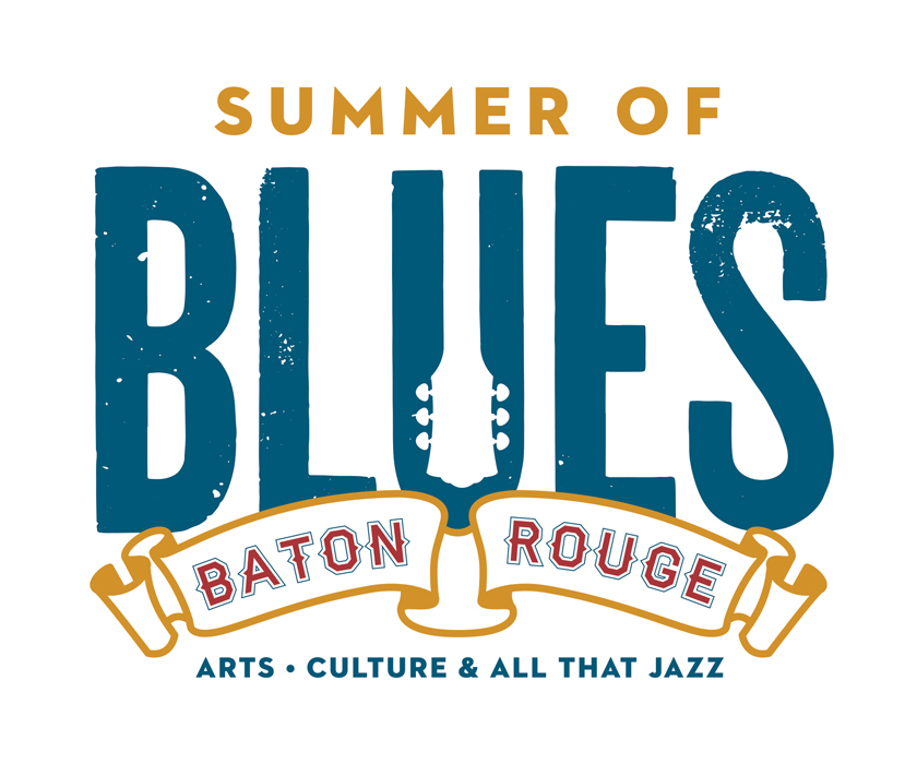 Summer of Blues Baton Rouge, logo design, 2013