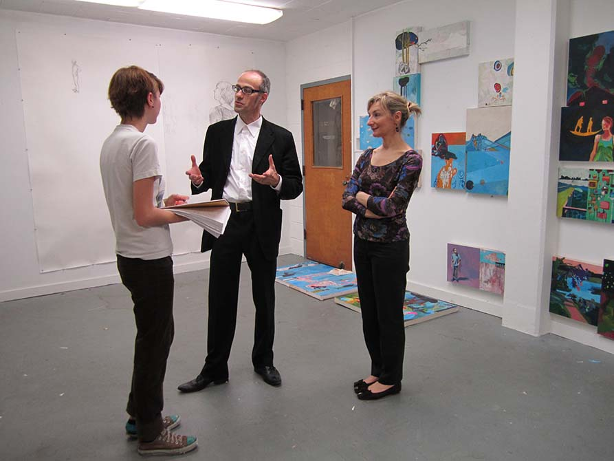 lsu visiting artists