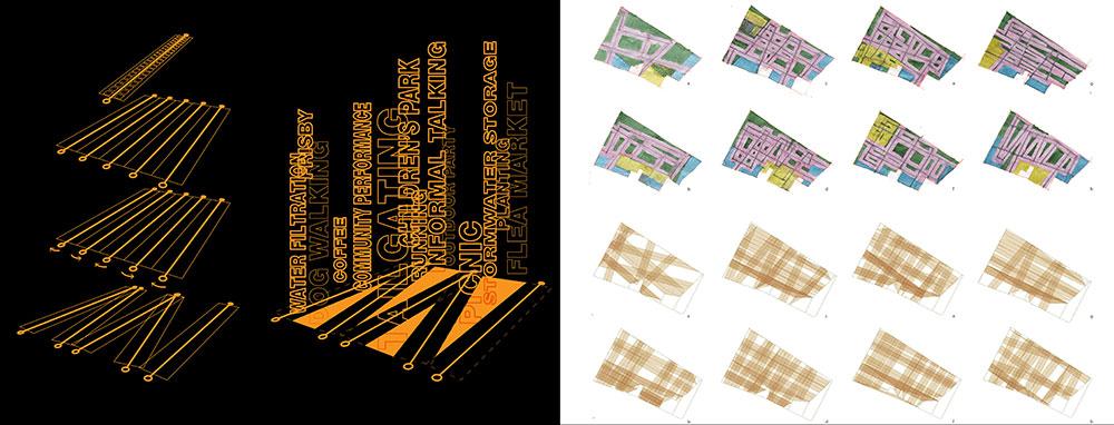 LSU landscape architecture diagram