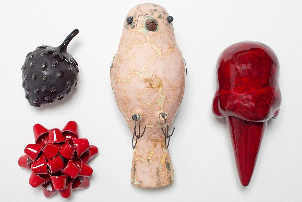 Ceramic bird, Mikey Walsh
