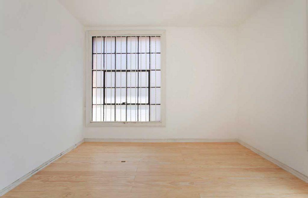 kristine thompson, empty white room