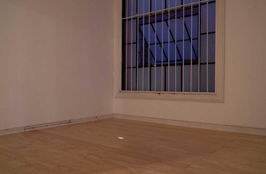 kristine thompson, empty room