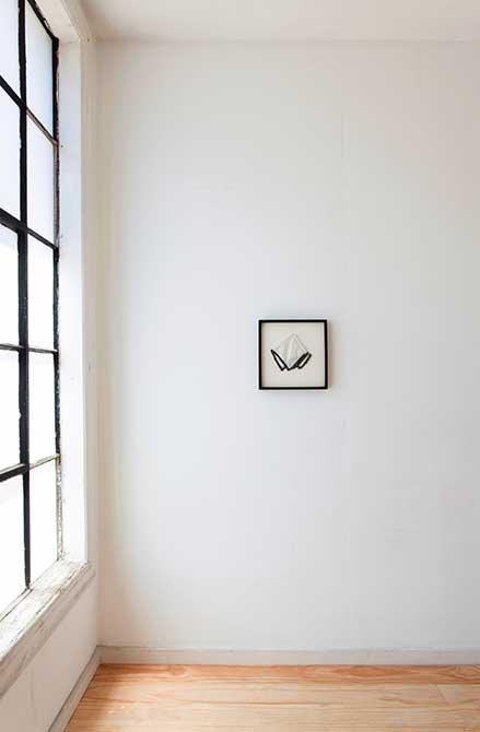 kristine thompson, morning etiquette, handkerchief in frame