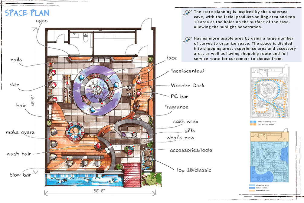 Interior Design Exchange Student Places in Design Competition