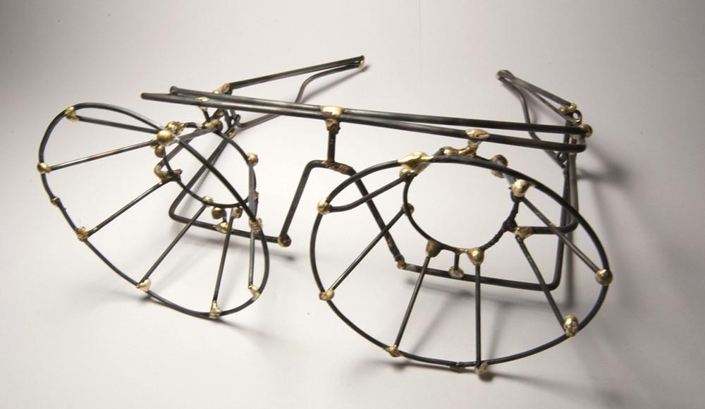 Wire sculpture. LSU BFA Studio Art Foundations