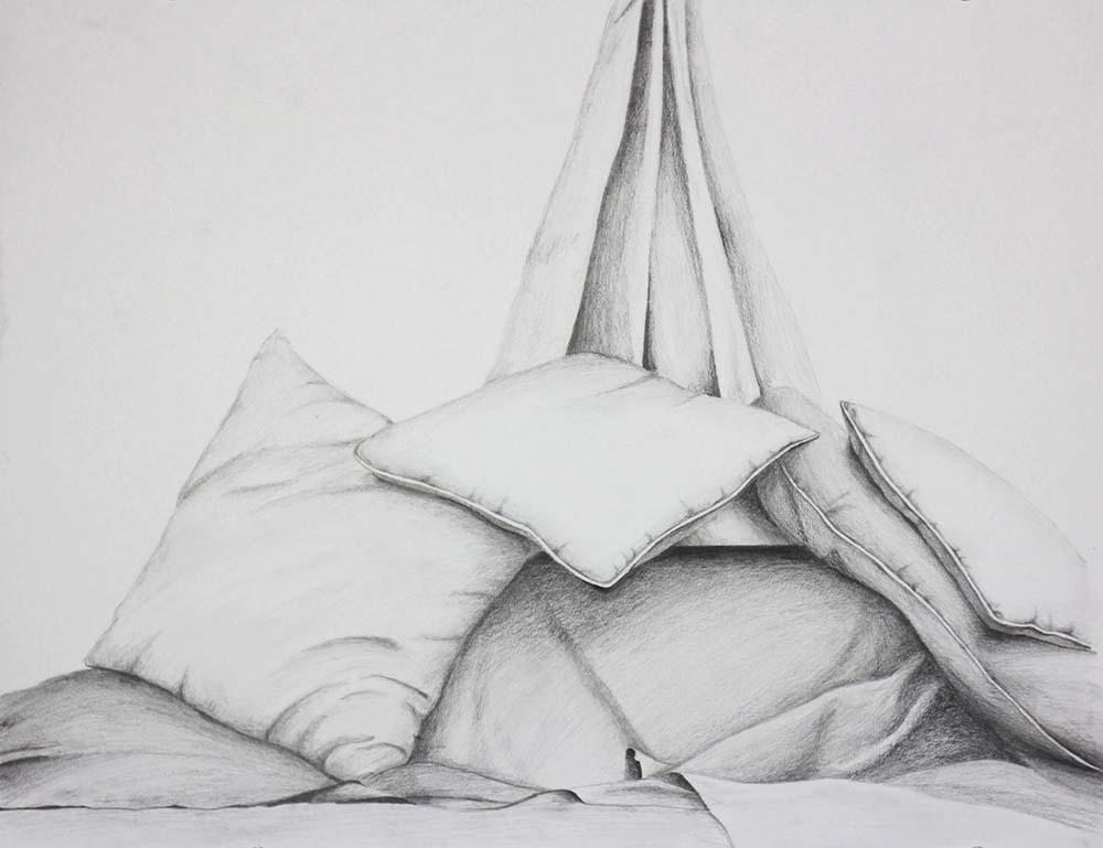 Pillows. BFA Studio Art Foundations