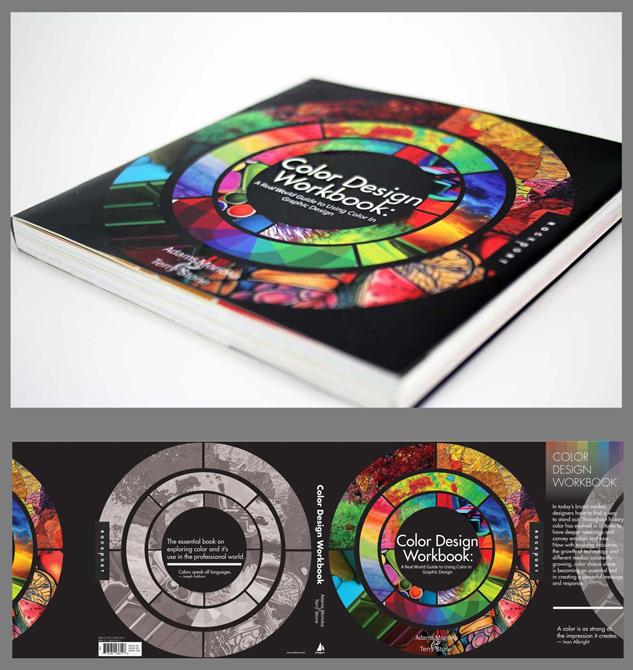 Color Design Workbook cover. LSU BFA Studio Art Graphic Design